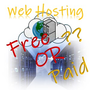 Web hosting free or paid - featured